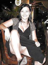 Dressed, Sexy dress, Sexy stockings, Milf stocking, Dressed milf