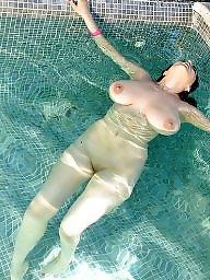 Bikini, Pool, Pink