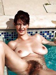 Vintage hairy, Natural tits, Vintage tits