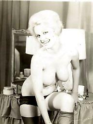 Vintage, Stockings, Lady, Nylons milf