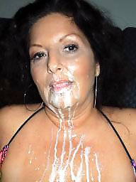 Milf facial, Amateur facial, Amateur facials