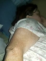 Bbw ass, Sleeping, Sleep, Bbw boobs