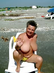 Mature beach, Beach mature, Mature boobs