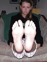 Feet, Exposed, Teen feet