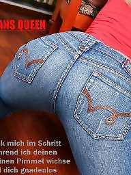 Captions, Jeans, Caption, Captions deutsch
