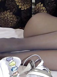 Pantyhose, Webcam, Black stocking, Black amateur, Amateur pantyhose