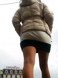 Skirt, Mini skirt, Romanian, Spy, Hidden, Skirts