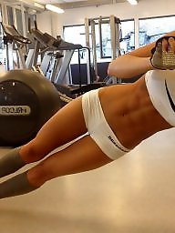 Fitness, Babe, Hot, Babes, Chick