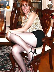 Mature pantyhose, Lady