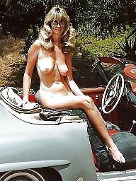 Car, Mature big boobs, Women, Mature women, Mature car, Cars