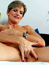 Fingering, Slender, Pretty, Mature fingering