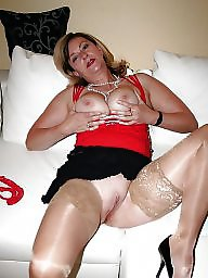 Granny, Granny nylon, Granny stockings, Nylons, Stockings, Nylon granny