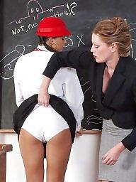 Teacher, Mature lesbian