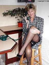Mature stockings, Kitchen, Uk mature, Stockings mature