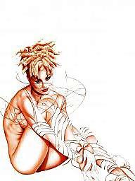 Nylons, Art