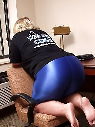 Yoga, Spandex, Pants, Yoga pants, Pant, Amateur bbw ass