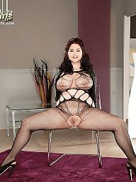 Mature, Fishnet, Black mature, Mature big boobs, Mature black, Big black