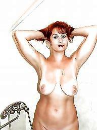 Face, Nipple, Faces, Big nipple, Amateur big tits
