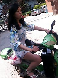 Chinese, Riding, Ride, Asian milf