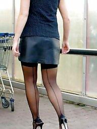 Nylon, Street, Nylon upskirt, Upskirt stockings, Amateur nylon, Stocking amateur