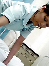 Nurse, Dick, Asian teen, Japanese teen