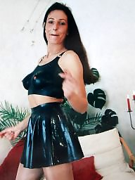 Pvc, Latex, Leather, Mature leather, Mature pvc