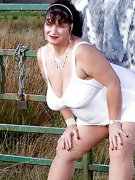 Fat, Chubby, Fat mature, Chubby mature, Mature flashing, Lady