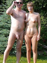 Group, Couple, Couples, Nude, Mature group, Mature couple