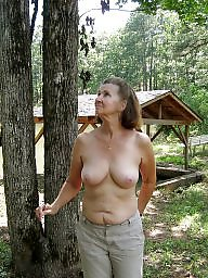 Mature boobs, Mature big boobs, House, Big mature