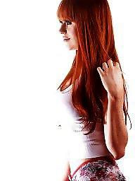 Lingerie, Redhead