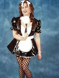 Pvc, Black, Maid, Maids