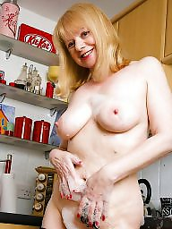 Milf, Kitchen, Black milf, Stockings mature, Black stocking, Milf mature