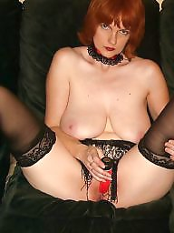 Big boobs, Redhead, Amateur boobs, Exposed, Slut wife