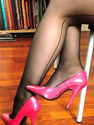 Heels, Tights, Stocking, Stockings heels