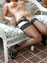 Stocking, Stocking mature, Black mature, Mature black