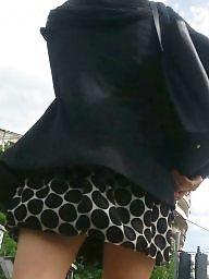 Skirt, Mini skirt, Spy, Romanian, Teens, Hidden