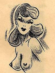Vintage, Vintage cartoons, Comix