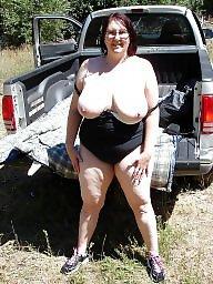 Outdoor, Bbw boobs, Posing, Amateur bbw, Outdoors, Bbw amateur