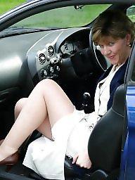 Garden, Uk mature, Stockings mature, Stocking mature, Mature in stockings, Amateur stockings