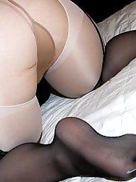Girdle, Mature girdle, Stocking, Mature stockings, Girdle stockings