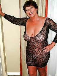 Bikini, Downblouse, Mature bikini, Mature dress, Underwear, Dressed