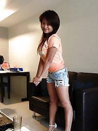 Hairy asian, Hairy stockings, Asian stockings, Hubby, Asian hairy, Asian stocking