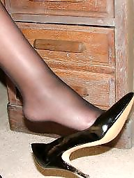 Stockings, Uk mature, Mature stockings