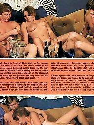 Vintage, Group, Magazine, Hairy vintage, Vintage hairy, Teenage