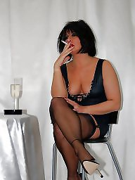 Upskirt, Ladies, Nylon stockings, Vintage nylon, Relax