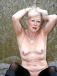 Granny, Grannies, Amateur granny, Mature flashing, Flash mature