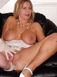 Blonde, Fingering, Big, Fingered, Milf boobs