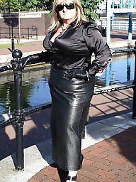 Leather, Mature leather, Milf leather, Mature porn, Milf porn