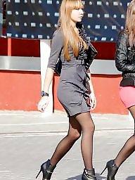Heels, High heels, Tight, Tights, Stockings heels