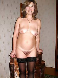 Milf, Natural, Hairy milf, Natures
